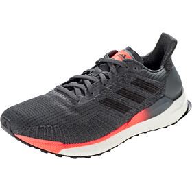 adidas Solar Boost 19 Low Cut Schoenen Heren, grey six/core black/signal coral